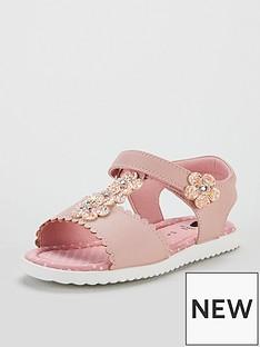 mini-v-by-very-poppy-glitter-flower-pink-sandal
