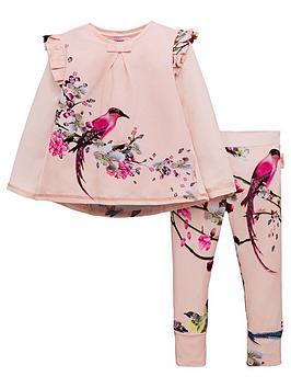 baker-by-ted-baker-girls-orient-floral-pyjama-set