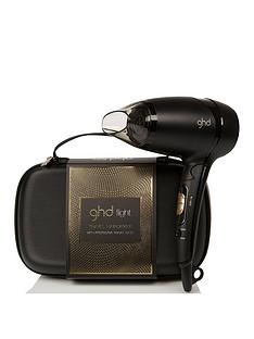 ghd ghd flight travel hairdryer and case gift set