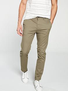 f093e047e78 V by Very Slim Fit Stretch Chino - Light Khaki