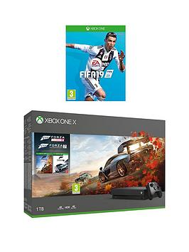 xbox-one-x-forza-horizon-4-andnbspforza-7-1tb-console-bundle-with-fifa-19nbspand-optional-extras