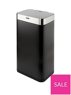 tower-75-litre-rectangular-sensor-bin-ndash-black