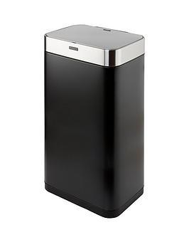 tower-75-litre-rectangular-sensor-bin-ndash-black