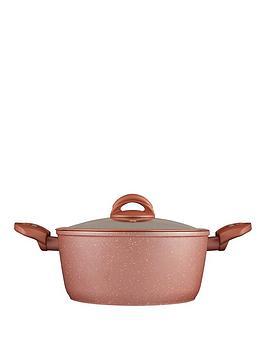 tower-cerastone-rose-edition-24-cm-casserole-pan