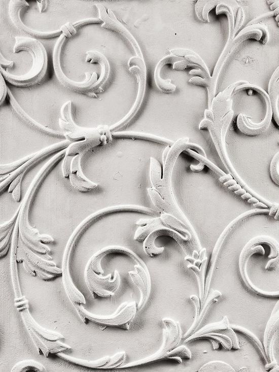 Laurence Llewelyn-Bowen Palace In Wonderland Monochrome Wallpaper