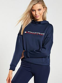 tommy-hilfiger-logo-cropped-hoodie-navy
