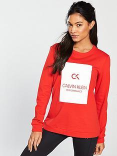 calvin-klein-performance-pullover-rednbsp