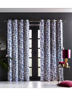 oasis-home-amelia-eyelet-curtains-in-indigo