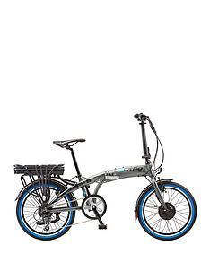 Rapide 20W Folding 8SPD E-Bike Grey