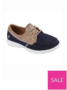 skechers-go-walk-lite-coral-flat-shoe
