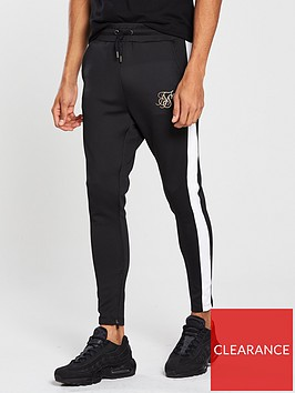 sik-silk-vapour-sport-pants-black