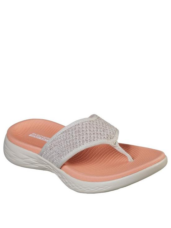 ee56919d250e Skechers On-the-go 600 Glossy Flip Flop