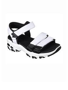 skechers-dlites-fresh-catch-flat-sandal