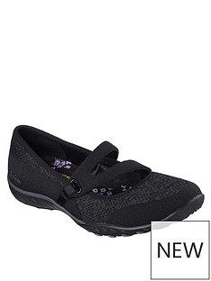 skechers-breathe-easy-lucky-lady-flat-shoes-black