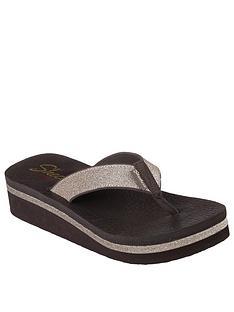 505e9fb22017 Skechers Vinyasa Unicorn Mist Flip Flop