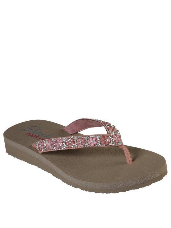 45386cae8681 Skechers Skechers Meditation Daisy Delight Flip Flop