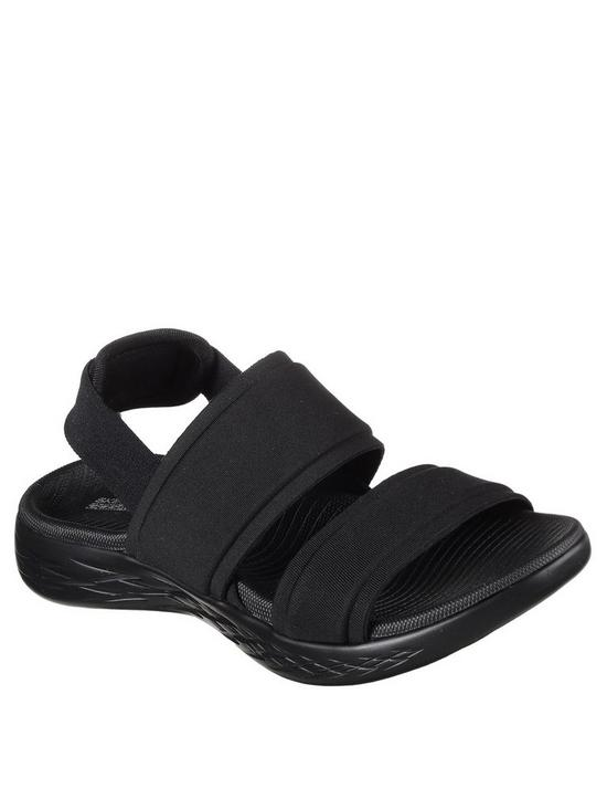4524929cac82 Skechers On-the-go 600 Foxy Flat Sandal - Black