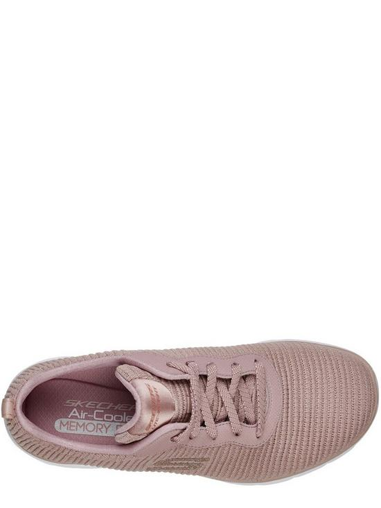 a642fbbd655 ... Skechers Flex Appeal 3.0 Endless Glamour Trainers - Mauve. View larger