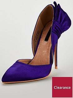 lost-ink-wide-fit-abigail-bow-court-shoe-cobalt-blue