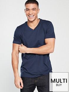 v-by-very-basic-v-neck-t-shirt-navy