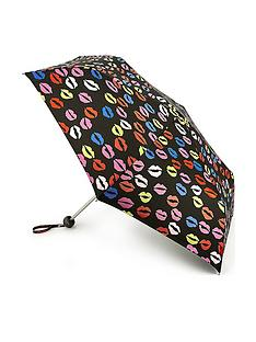 lulu-guinness-minilite-2-blot-lips-umbrella-multi