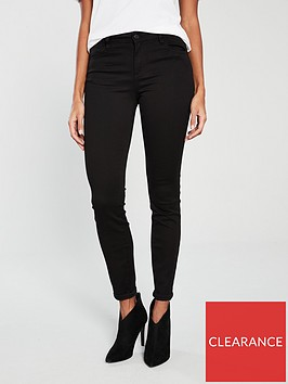 armani-exchange-super-skinny-jeans-black