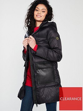 armani-exchange-lightweight-down-coat-black