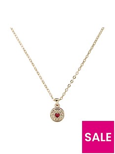 ted-baker-baltia-biscuit-button-pendant-necklace-goldred