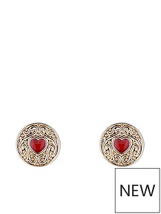 ted-baker-brenaa-biscuit-button-stud-earrings-goldred
