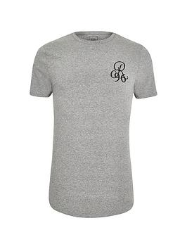river-island-big-and-tall-double-curve-embroidered-t-shirt-charcoal