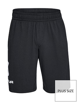 under-armour-plus-sportstyle-graphic-shorts-black