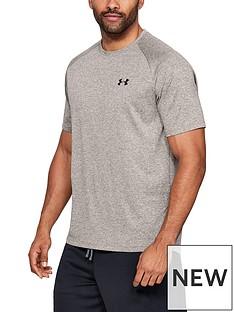 under-armour-tech-t-shirt-brown
