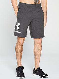 UNDER ARMOUR Sportstyle Graphic Shorts - Charcoal Heather d17b1c8e98b27