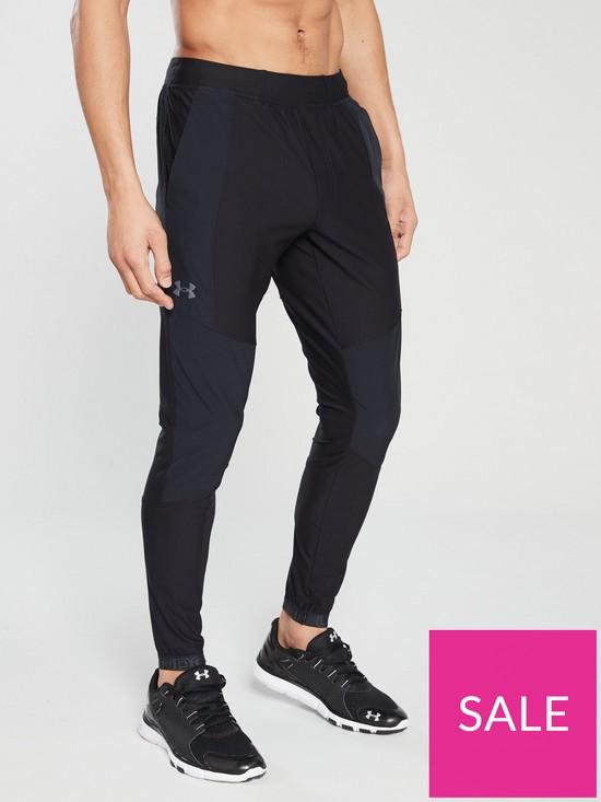 c61aeb8c3 UNDER ARMOUR Vanish Hybrid Pants - Black | very.co.uk