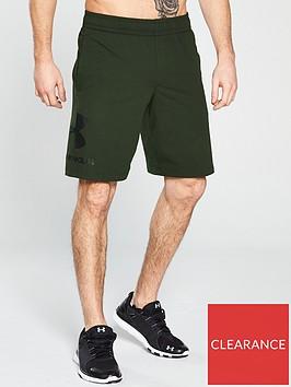 under-armour-sportstyle-graphic-shorts-artillerynbspgreen