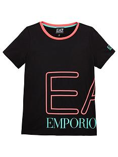 emporio-armani-ea7-girls-short-sleeve-neon-logo-t-shirt