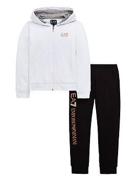 ea7-emporio-armani-girls-metallic-zip-through-logo-tracksuit