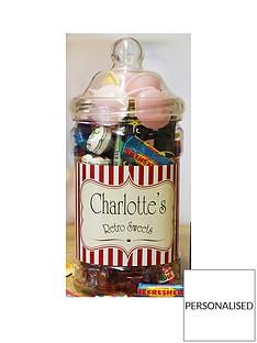 personalised-retro-sweets-jar-medium