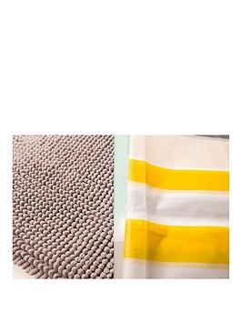 Sabichi Ocean Shower Curtain & Bath Mat Set thumbnail