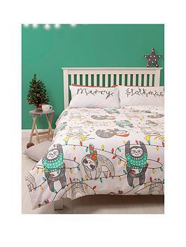 hive-bedding-slothmas-single-duvet-set