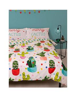 hive-bedding-merry-cactus-single-duvet-set