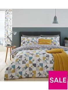 catherine-lansfield-retro-circles-duvet-cover-set