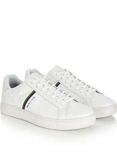 PS PAUL SMITH Men s Rex Leather Trainers - White 87cdbf110