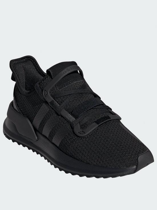 5aab7cde0eee76 adidas Originals U_Path Junior Trainers - Black | very.co.uk