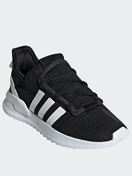 adidas-originals-u_path-run-childrens-trainers-blackwhite