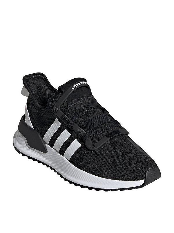 U_Path Junior Trainers - Black/White