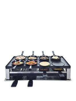 Solis 5-In-1 Table Grill &Amp; Raclette