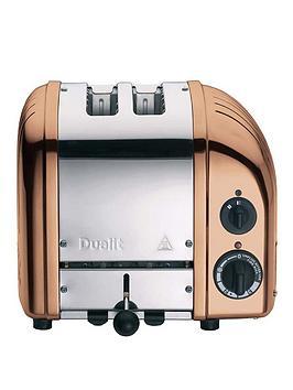 Dualit 27450 Classic 2-Slice Toaster - Copper