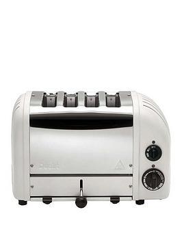 Dualit Dualit 47453 Classic 4 Slice Toaster – Matte Porcelain