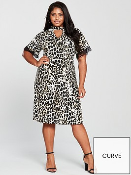v-by-very-curve-choker-neck-lace-trim-jersey-dress-animal-print